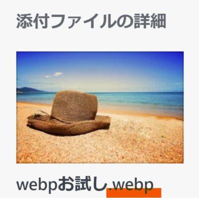 WebP比較
